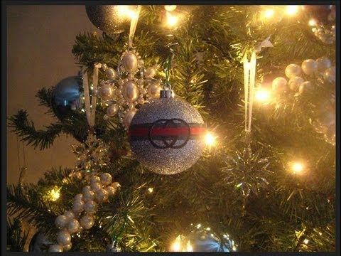 DIY Gucci Christmas Tree Ornament! Have a Very Gucci