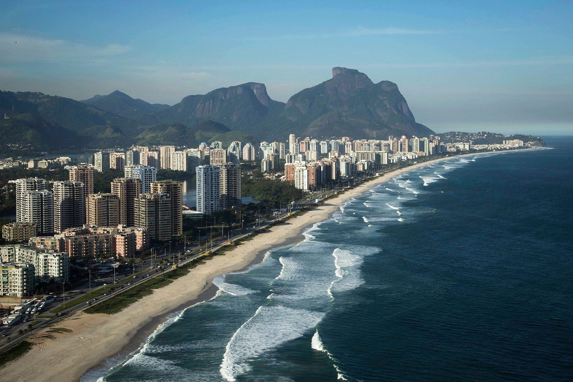 Barra da Tijuca beach, Rio de Janeiro, Brazil