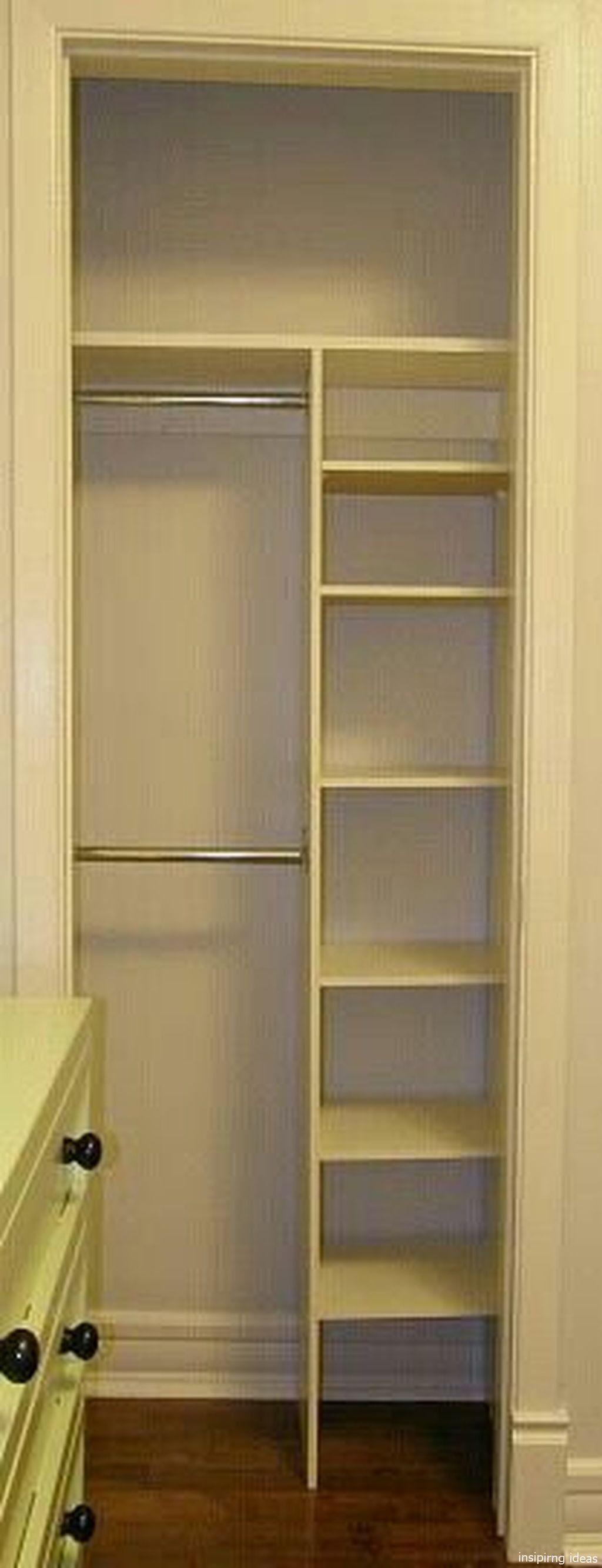 52 genius small closet ideas  bedroom organization closet