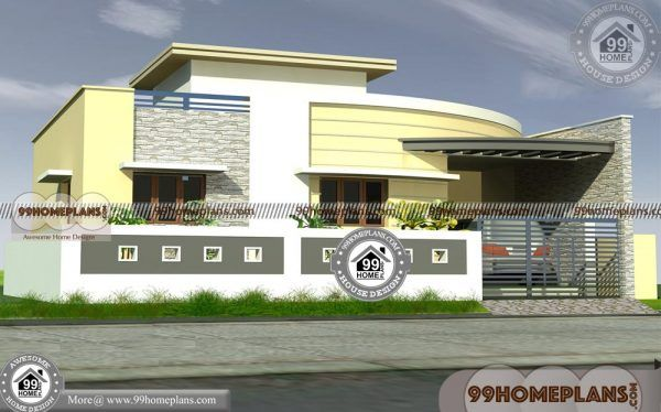 bedroom single storey house plans low budget home design india also rh pinterest