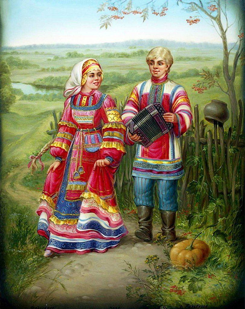 Русские национальные открытки, выздоравливайте скорее картинка