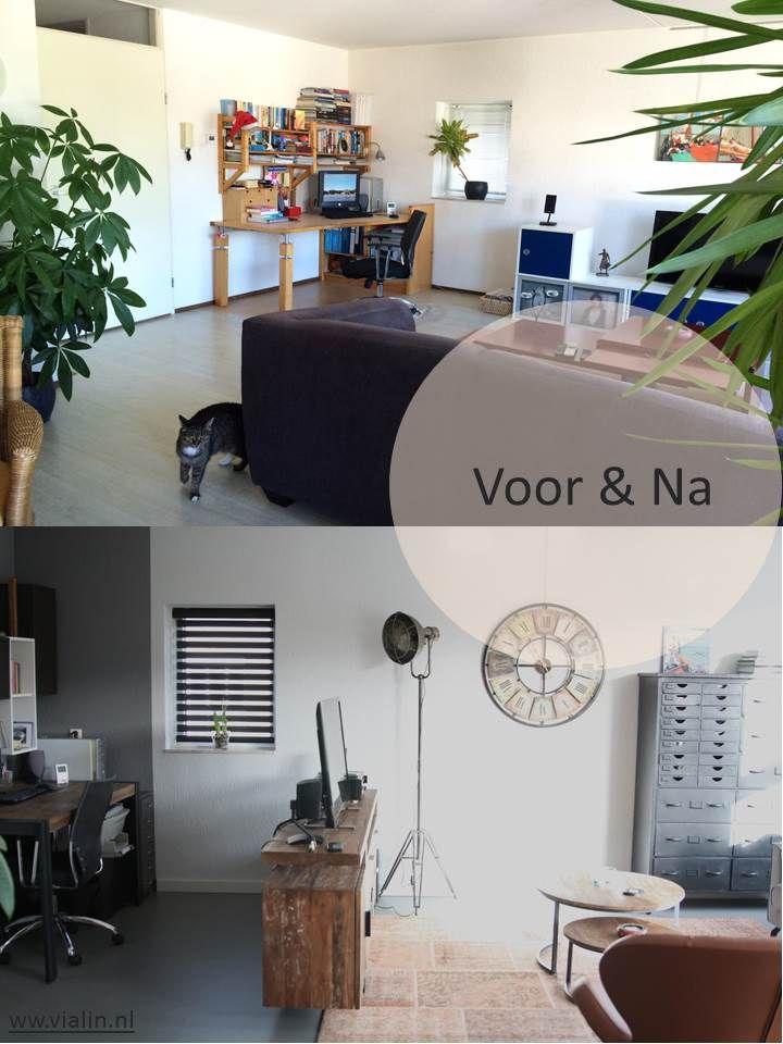 voor en na interieuradvies woonkamer leeuwarden friesland2 | Via Lin ...