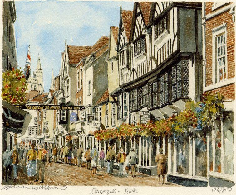 York - Stonegate - Portraits of Britain