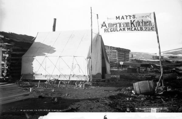 Cripple Creek Restaurant In 1890