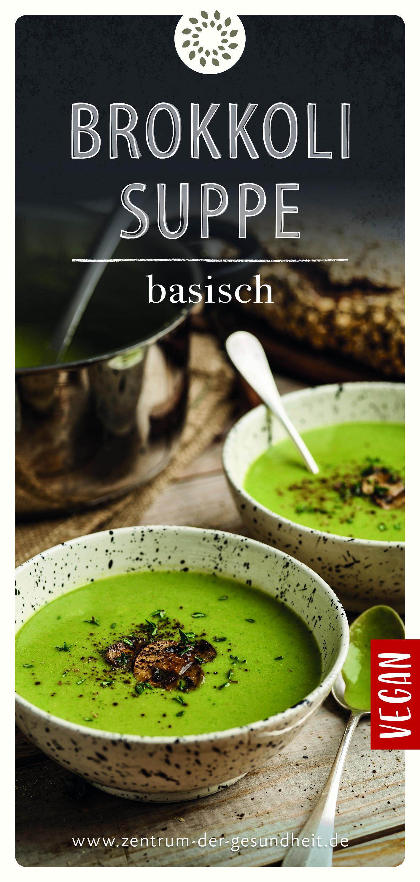 Brokkolisuppe – basisch