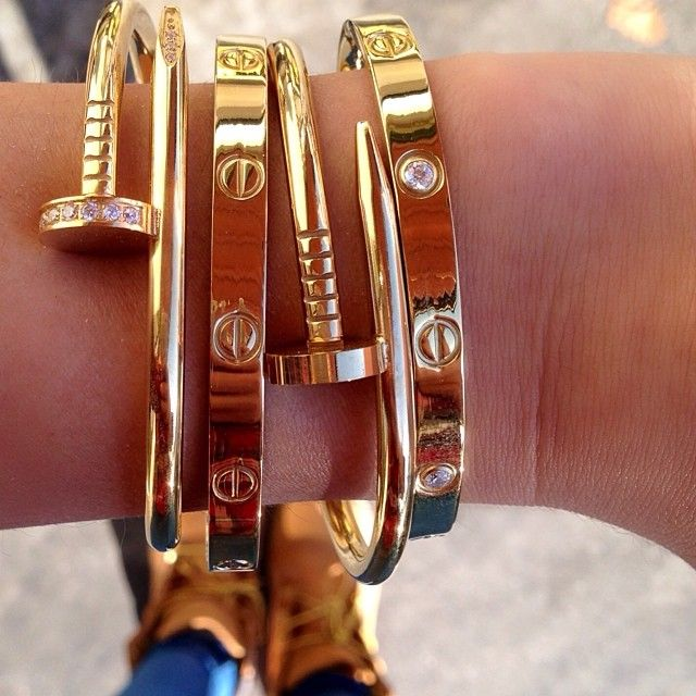 Cartier clou bracelet bijoux pinterest bijou bijoux - Clou tapissier pas cher ...
