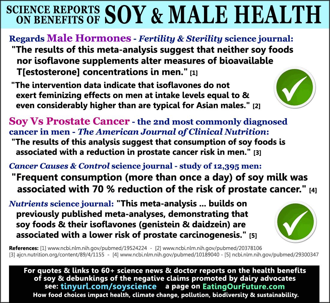 Soy Foods: Studies & Doctors Report Great Health Benefits & Debunk