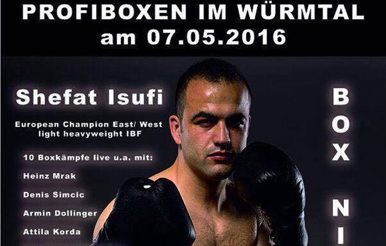 Shefat Isufi Jagt Den Nachsten Titel Boxer Box Und Champion