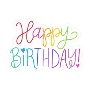 happy birthday dawn nicole silhouette design and happy birthday