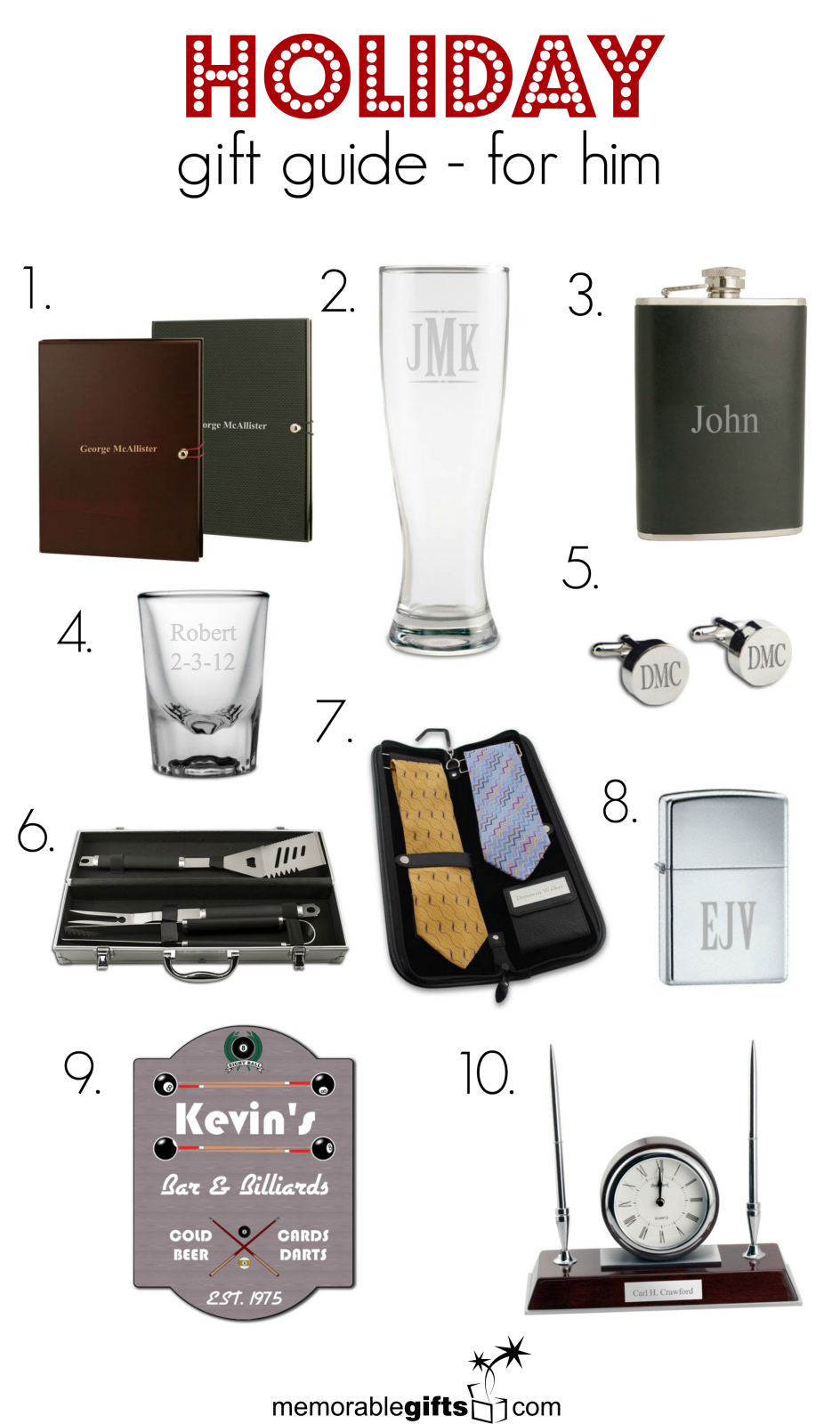 972da4fd178a1 Christmas Gifts for Him - http   www.memorablegifts.com gifts