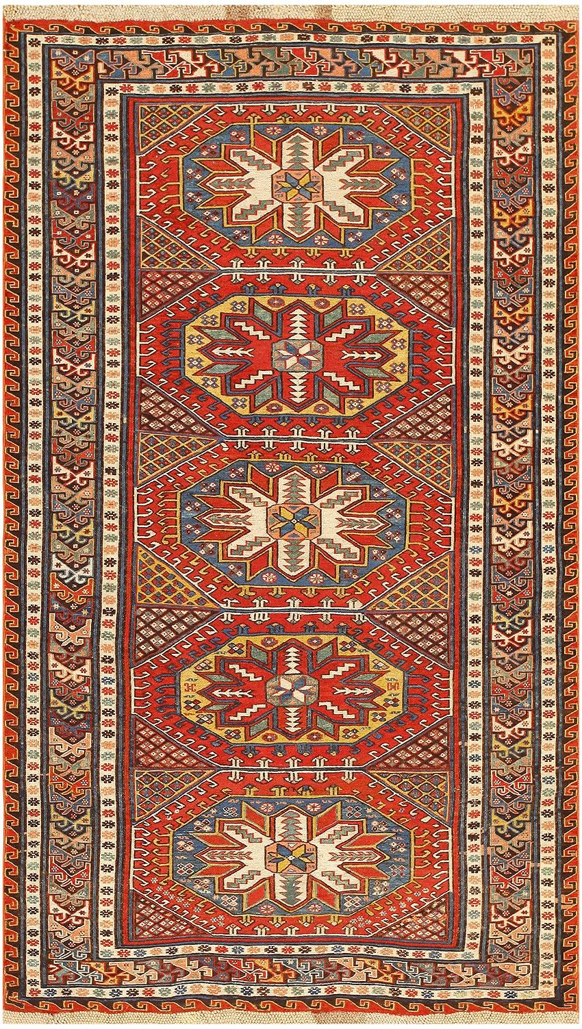 Antique Caucasian Soumak Rug 47468 Main Image By Nazmiyal
