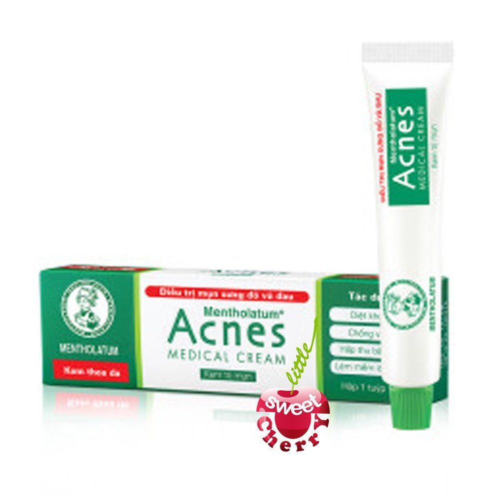 Acnes Medical Cream 18gr From Rohto Mentholatum Purpose Acne Sealing Gel Pimples Especially Pustules And Whiteheads Medication It Helps Killing Causing Bacteria Going Deep Down Into The Pores To Relieve