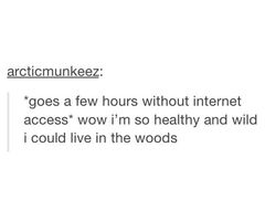 but but but...i already live in the woods....and i hunt animals....and i butchr deer....and im raising cows...... DUDEEEEEEEE