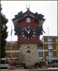 Reloj Cucú- Atracción de la Ciudad de Villa Carlos Paz- Provincia de Córdoba- República Argentina.