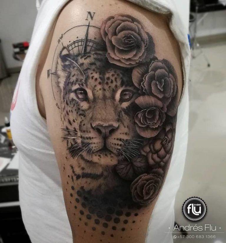 Jaguar Tattoos Tattoo Insider Jaguar Tattoo Tattoos Aztec Tattoo