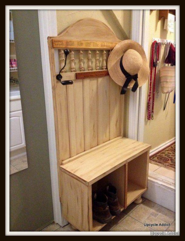 $3.00 Mud Room Bench   Muebles de entrada, Casas de campo y Pasillos