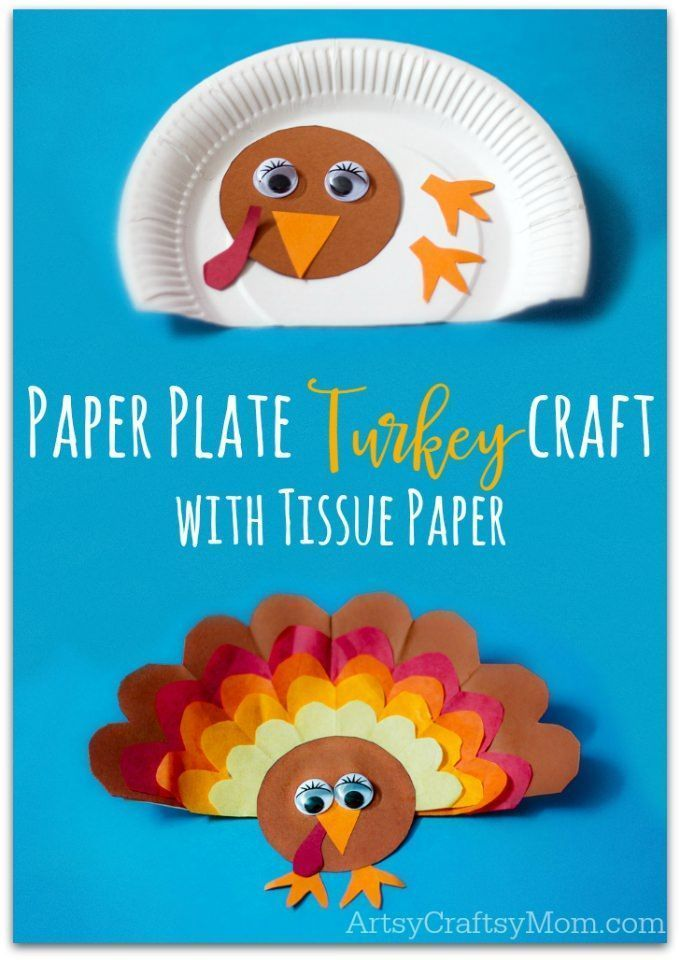 Paper Plate Thanksgiving Turkey craft with Tissue Paper | Turkey craft Thanksgiving turkey and Tissue paper  sc 1 st  Pinterest & Paper Plate Thanksgiving Turkey craft with Tissue Paper | Turkey ...