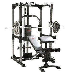 my new toy  weider club c650 bench rack  home gym set