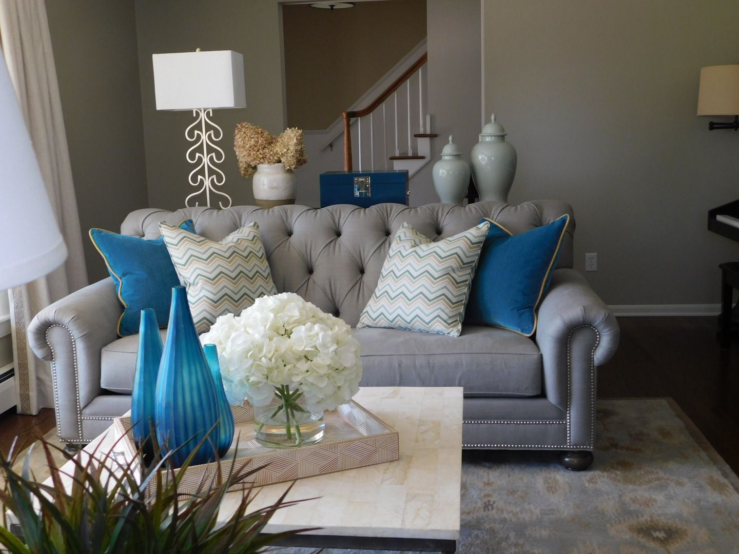 Updated colonial in edina mn all furnishings ethan allen and a