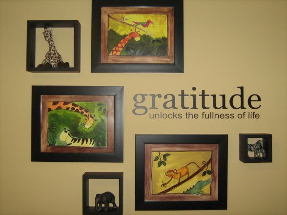 Gratitude Wall Collage | Home inspiration | Pinterest | Wall collage ...