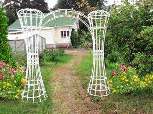 Как сделать садовую арку - СТРОЙ Своими руками