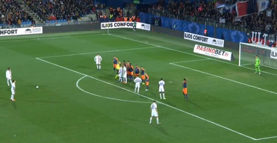 Video Neymar with a fantastic freekick goal against