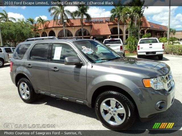 2010 Ford Escape Limited In Sterling Grey Metallic Click To See