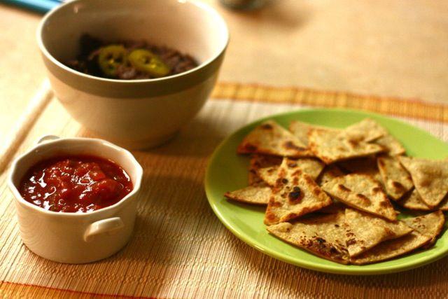 tortillachips home-made