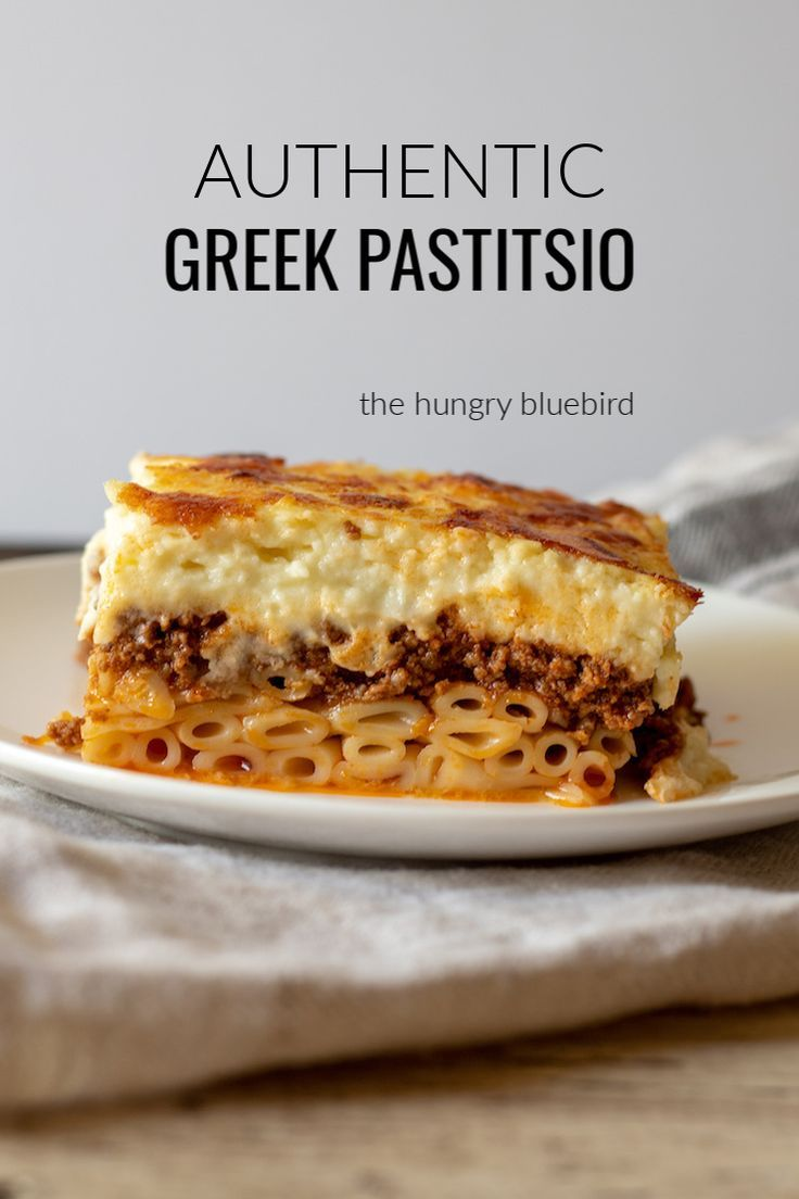 Photo of Authentic Pastitsio Greek Lasagna Recipe