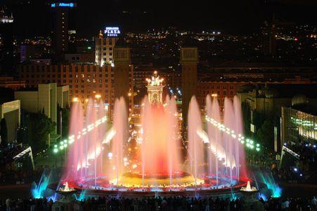 The Magic Fountain and Montjuïc / Barcelona, Spain