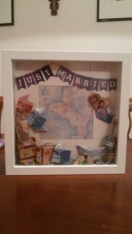 Hochzeitsgeschenk Für Hochzeitsreisekombination Aus Mehreren Pins