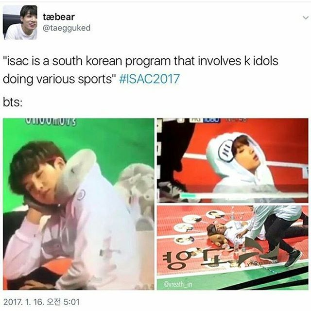 I think I know why, they are planning to have a comeback next month and for sure they are exhausted on their own.. BTS being thugs when they actually pledged not to sleep while doing ISAC XD