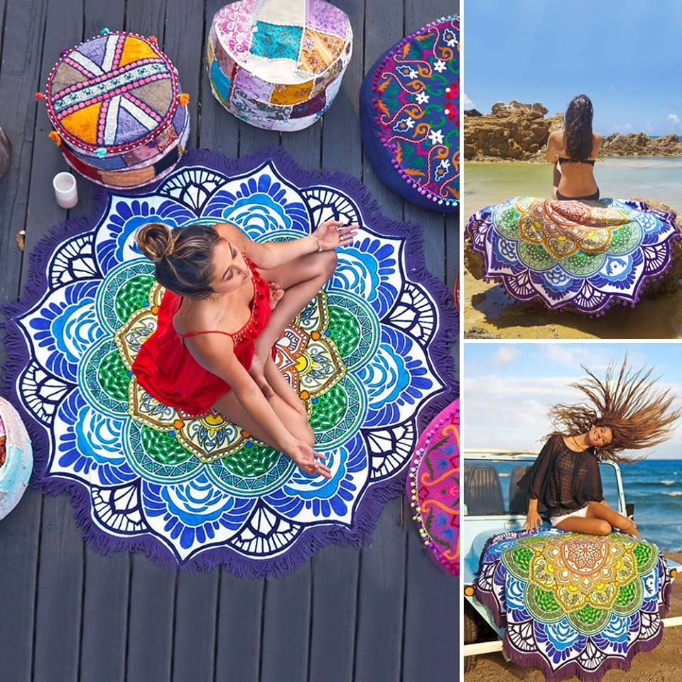 Yoga Towel Chakra: Chakra Blanket Found At Vessos