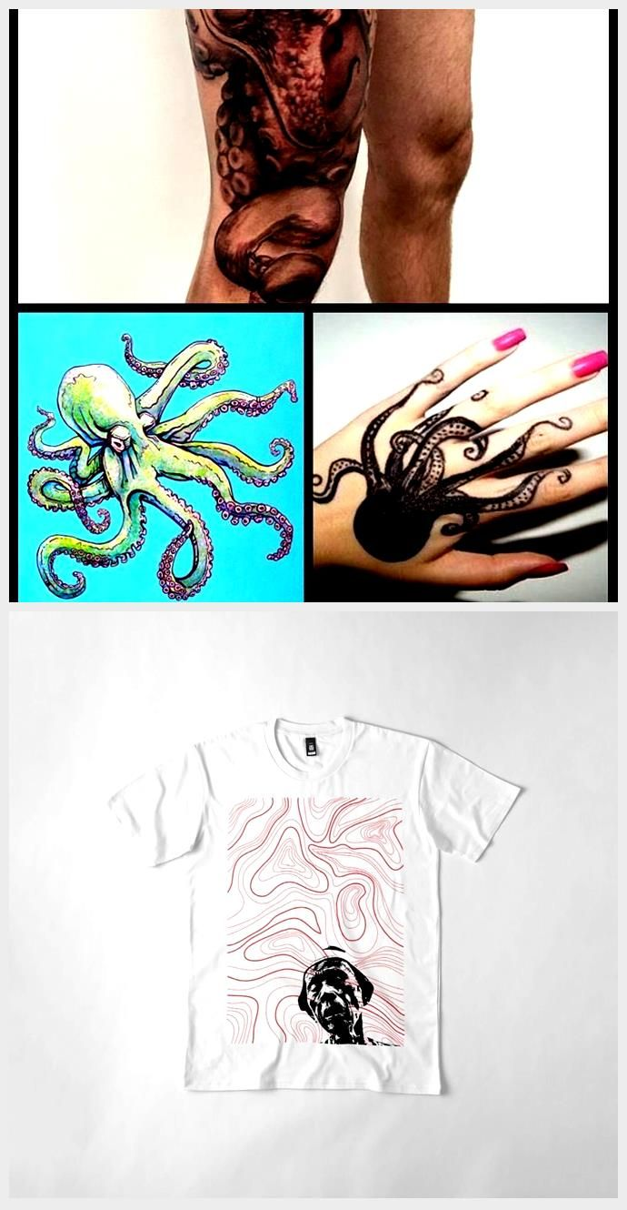 Tattoo octopus john frusciante red hot chilli peppers full
