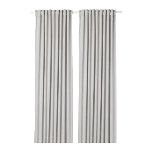Majgull Room Darkening Curtains 1 Pair Light Gray 57x98 Ikea Blackout Curtains Room Darkening Curtains Cool Curtains
