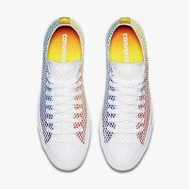 c02887808257 Converse Chuck Taylor All Star Pride Mesh Low Top Unisex Shoe -  90 ...