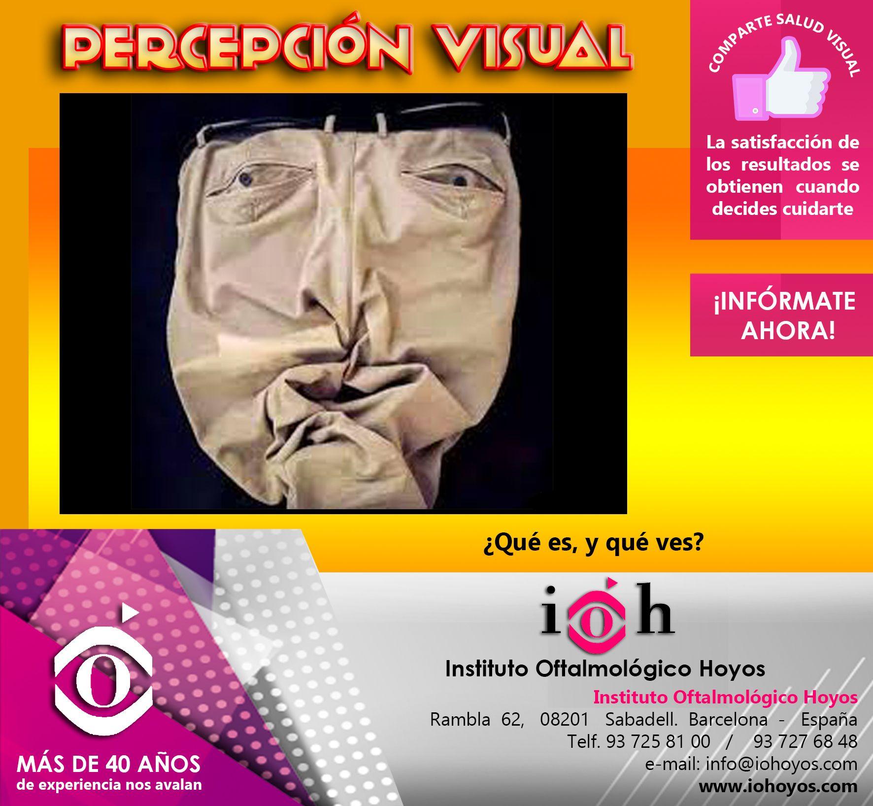 """Mira la imagen y cuenta todo lo que ves... Recuerda: """"Tus ojos en las mejores manos""""  www.iohoyos.com"""