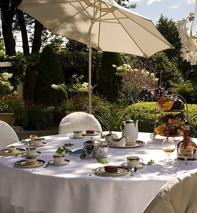 Pommery terrasse jardin salle de r ception mariage - Terrasse jardin botanique montreal poitiers ...