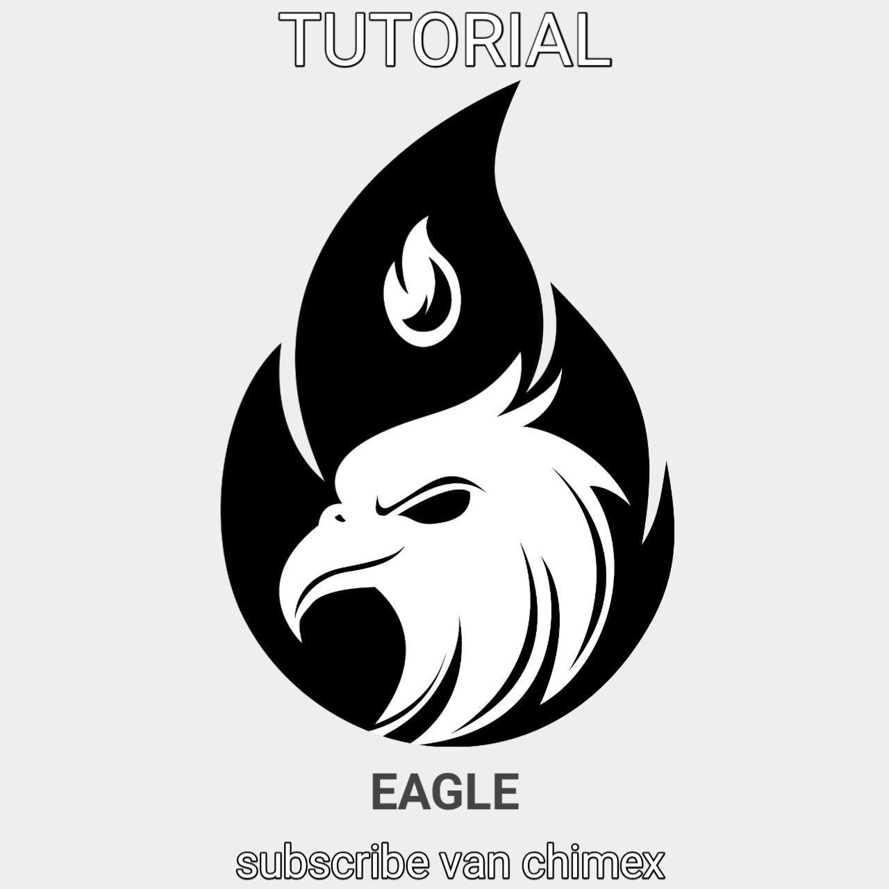 Vector Logo Design Logo Eagle Design Eagle Burung Elang Vector