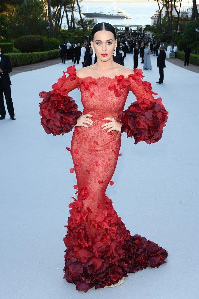 Gala robe rouge 2016