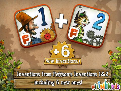 Pettson's Inventions Deluxe (5.99) Help old man Pettson