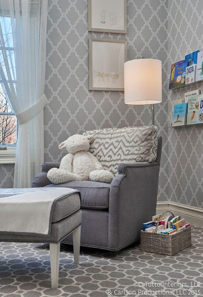 Обои серого цвета: сочетания, дизайн, выбор мебели и штор ...