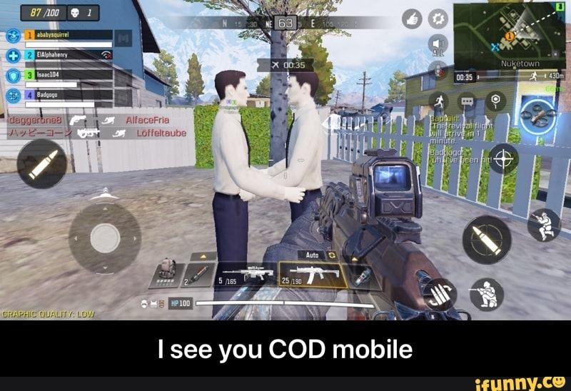 Isee You Cod Mobile I See You Cod Mobile Ifunny Memes
