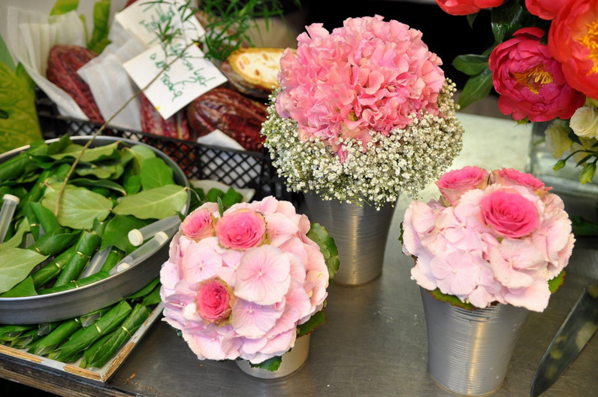 Ihre Hochzeit ein einmaliger Tag eine einmalige Blumendekoration