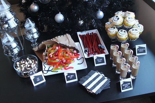 The Nightmare Before Christmas Dessert Bar The Nightmare Before