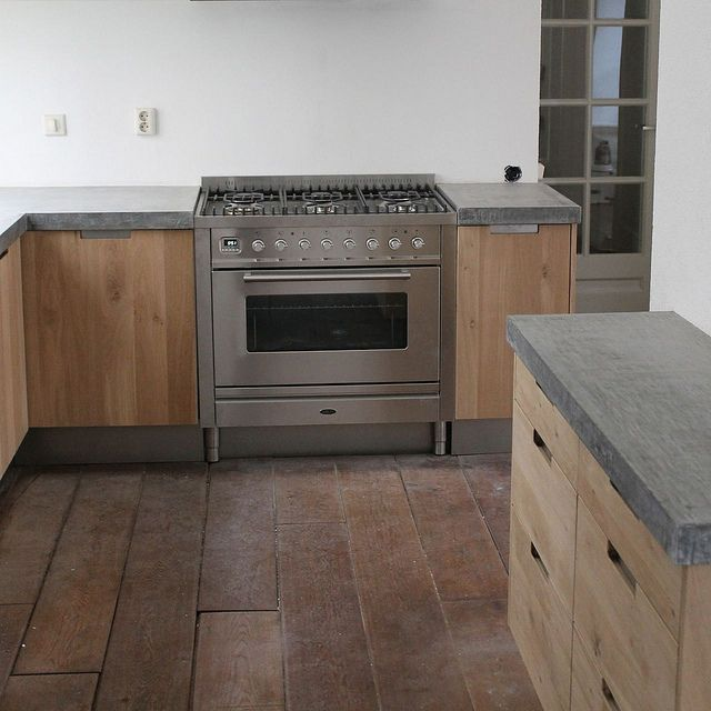 Koak Design Massief eiken houten keuken met ikea keuken kasten - ikea küchen planen