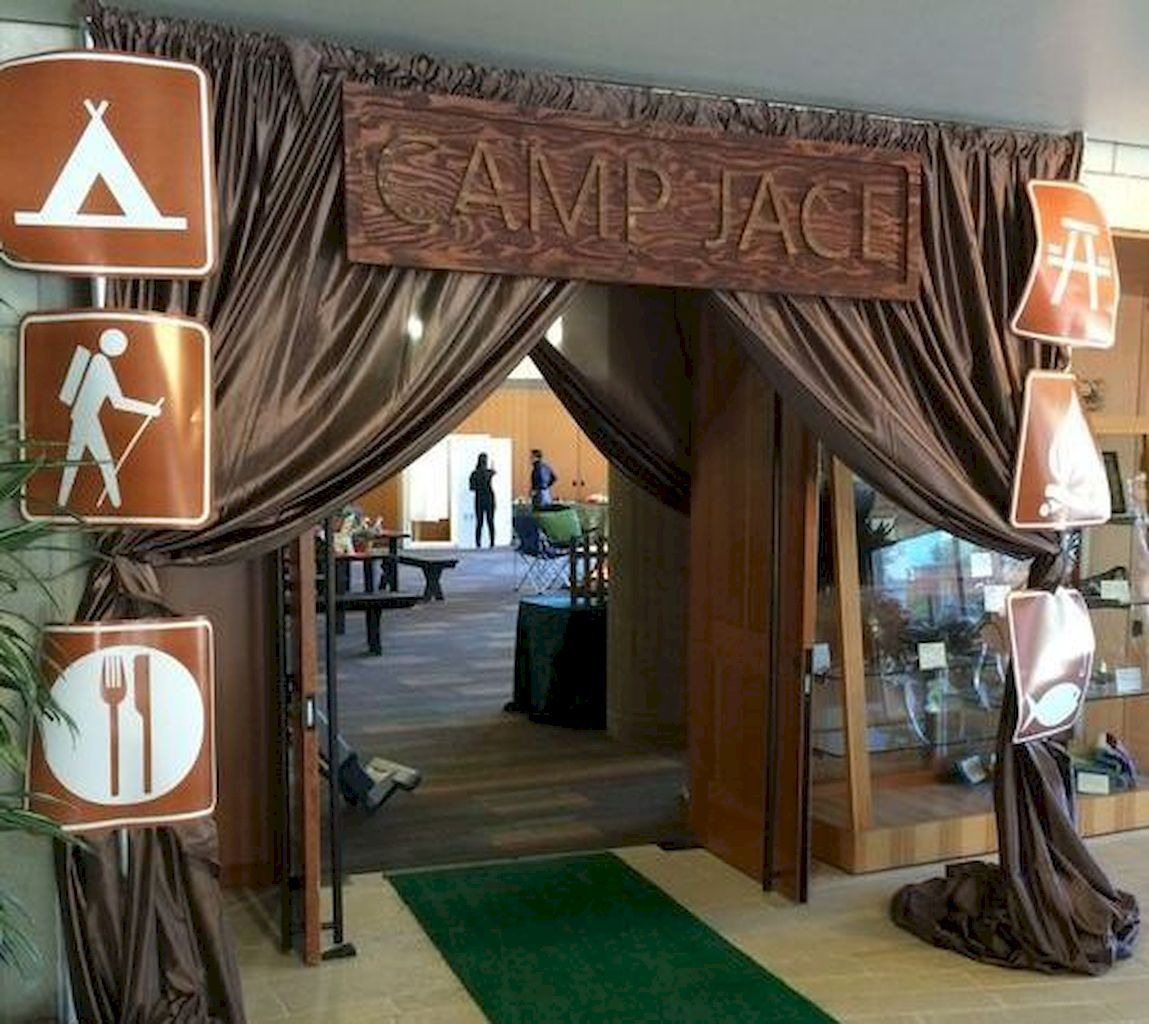 10 High Birthday Celebration Concepts Camping theme