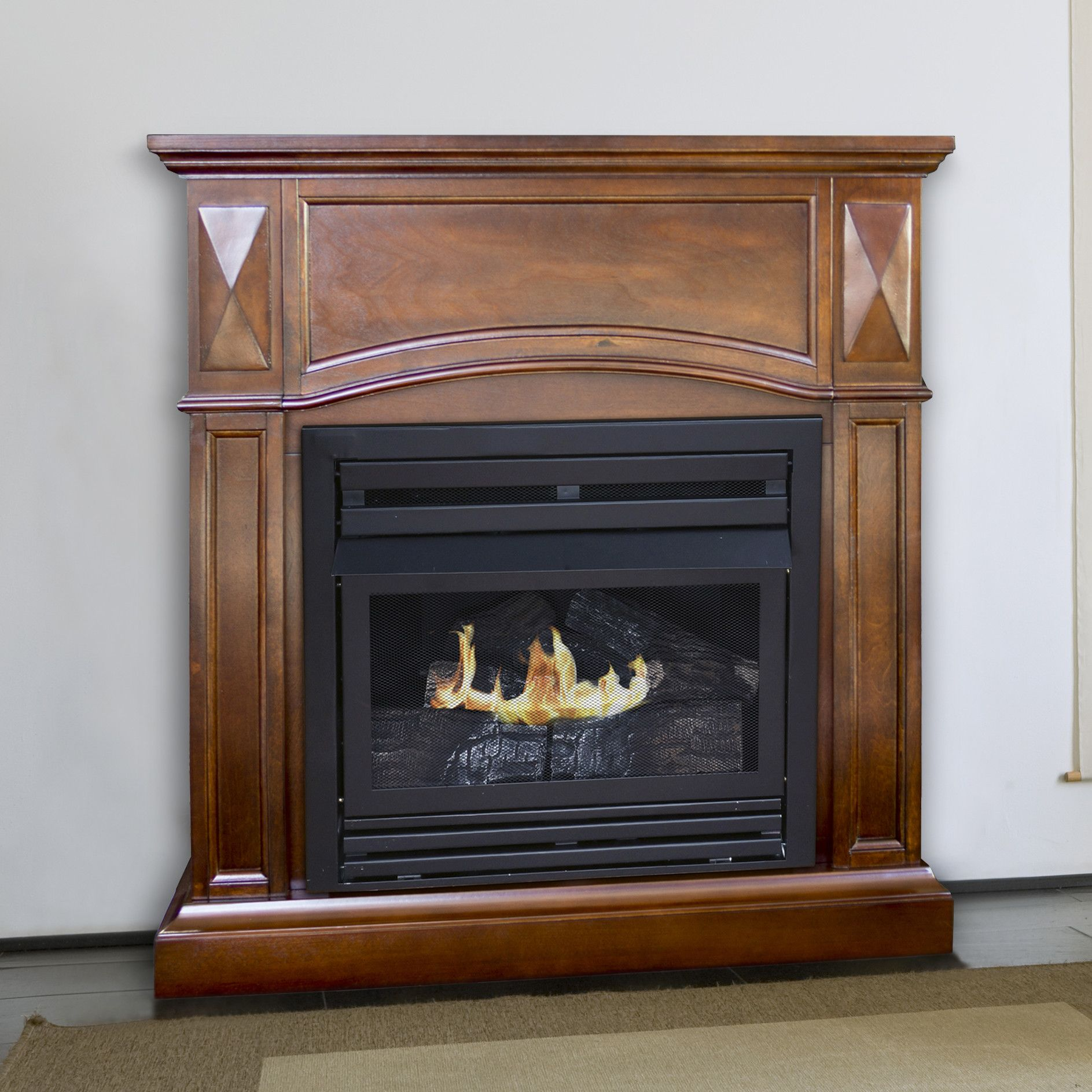 fireplace natural logs gas with regency en fireplaces products a
