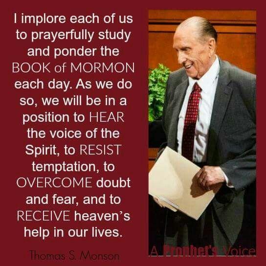 Pres Thomas S Monson Faith Lds Mormon Quotes Lds Quotes