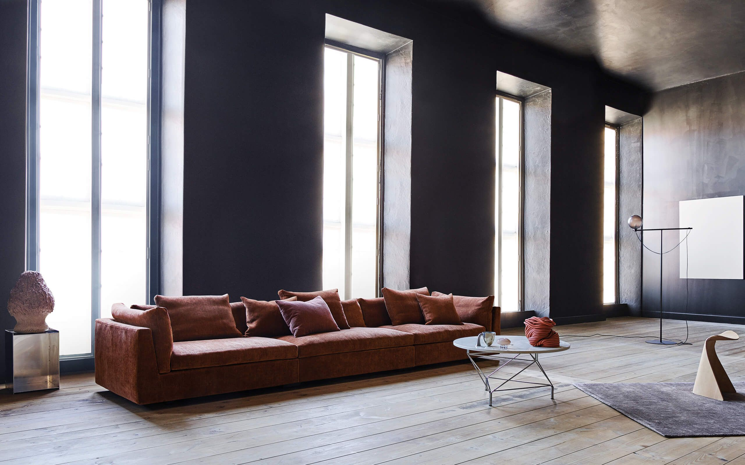 Float Is An Ultra Low Lounge Sofa That
